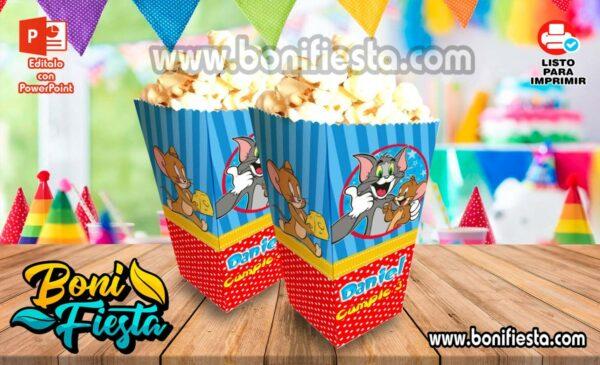 Cajita POPcorn Tom y Jerry