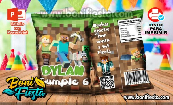 ChipsBags Minecraft 600x365 1