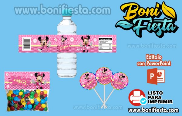 Etiquetas Minnie Mouse 600x385 1