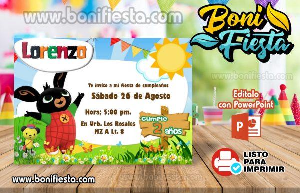 Invitacion Bing Bunny 1 600x386 1