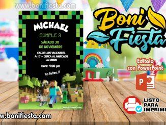 Minecraft Invitacion 326x245 1
