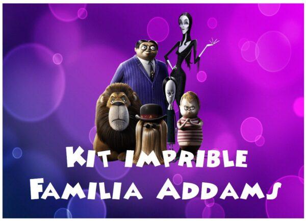 Portada Familia Addams