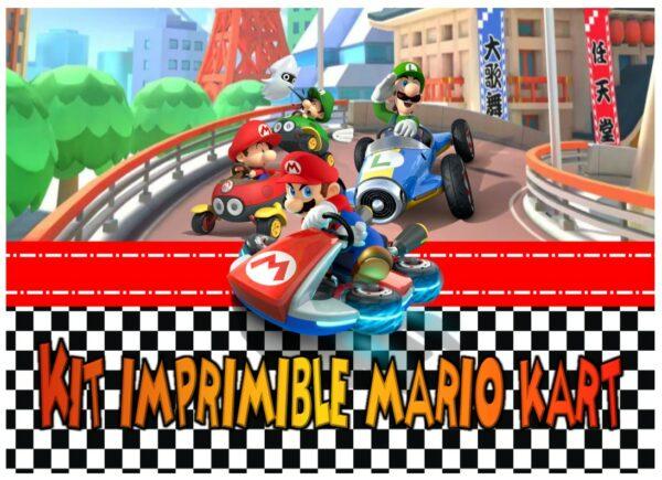 Portada Mario Kart
