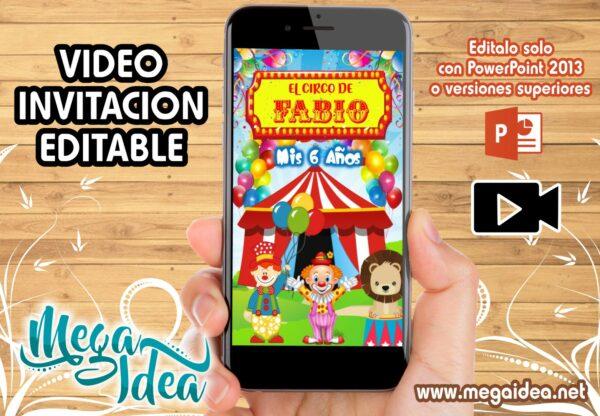 VIDEO Invitacion CIRCO