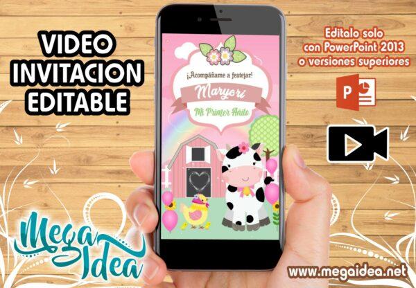 VIDEO Invitacion Granjita