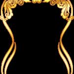 frame marco dorado 24