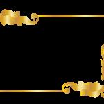 frame marco dorado 25