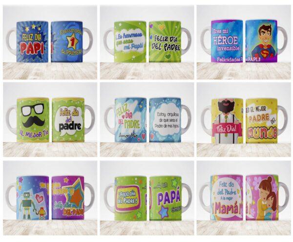 pack tazas padre 2