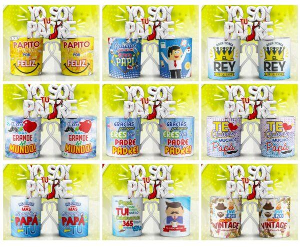 pack tazas padre 5