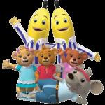 Bananas en Pijamas 02