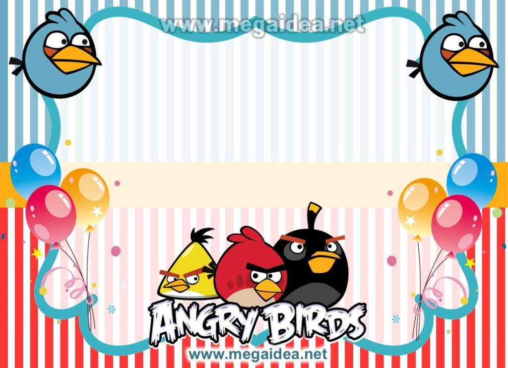 FONDO invitacion Angry Birdspptx