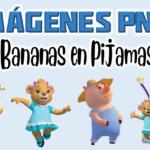Imagenes PNG de Bananas en Pijamas Gratis