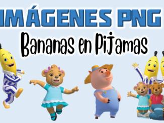 imagenes png Bananas en Pijamas