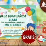 Invitaciones de Bubble Guppies  para Editar GRATIS