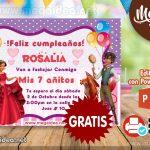 Invitación de Elena de Avalor para Editar GRATIS