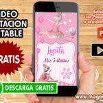 Video Invitacion de la Angelina Ballerina GRATIS