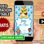 Video Invitacion del Agente Oso  GRATIS
