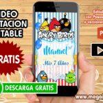 Video Invitacion de Angry Birds GRATIS