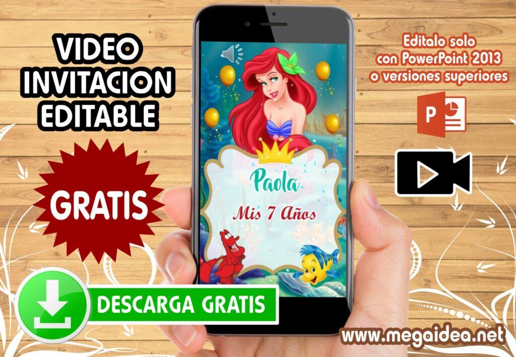 plantilla Ariel