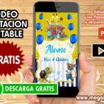 Video Invitacion de Bananas en Pijamas GRATIS
