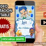 Video Invitacion de Bubble Guppies GRATIS