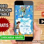 Video Invitacion de Buzz Lightyear GRATIS