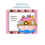 BABY SHOWER ARCA MODELO 2 NINA 02