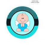 BABY SHOWER BEBE ANGELITO NINO 06
