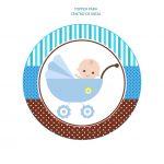 BABY SHOWER BEBE CARRITO NINO 06