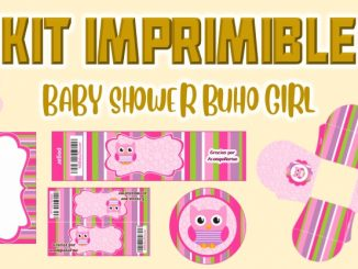 BABY SHOWER BUHO MODELO 2 GIRL muestra