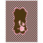 BABY SHOWER ELEFANTE BROWN PINK GIRL 21