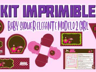 BABY SHOWER ELEFANTE MODELO 2 GIRL MODELO