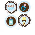 BABY SHOWER JIRAFA MODELO 2 BOY 05