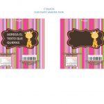BABY SHOWER JIRAFA MODELO 2 GIRL 10
