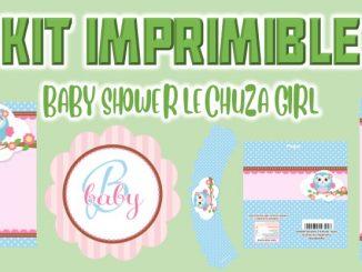 BABY SHOWER LECHUZA GIRL MUESTRA