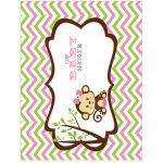 BABY SHOWER MONITO GIRL 21