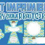 Kit Imprimible de Bautizo Niño