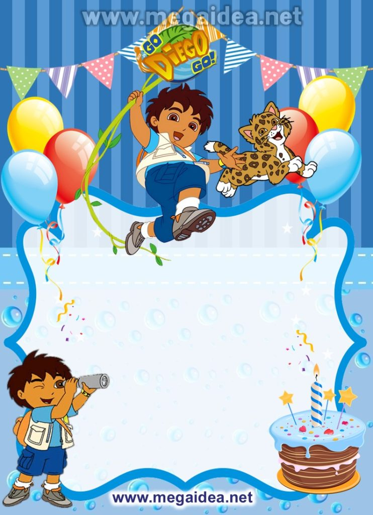 FONDO Invitacion Go Diego Go