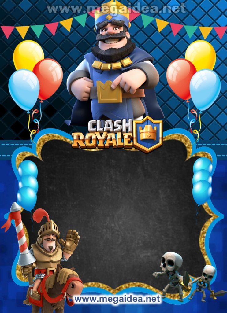 FONDO invitacion Clash Royale