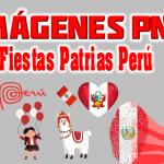 Fiestas Patrias Peru PNG