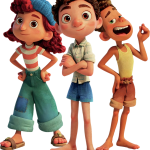 Imagenes de Luca Disney Pixar