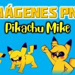Imágenes de Pikachu Mike exe en PNG fondo Transparente