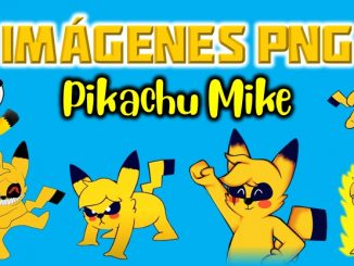 Imagenes de Pikachu Mike exe en PNG fondo Transparente