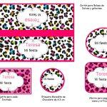 Kit Imprimible Animal Print 04
