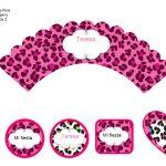 Kit Imprimible Animal Print 09