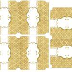 Kit Imprimible Boda dorado 02