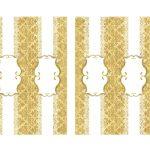 Kit Imprimible Boda dorado 06
