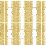 Kit Imprimible Boda dorado 07