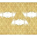 Kit Imprimible Boda dorado 09