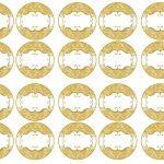 Kit Imprimible Boda dorado 15